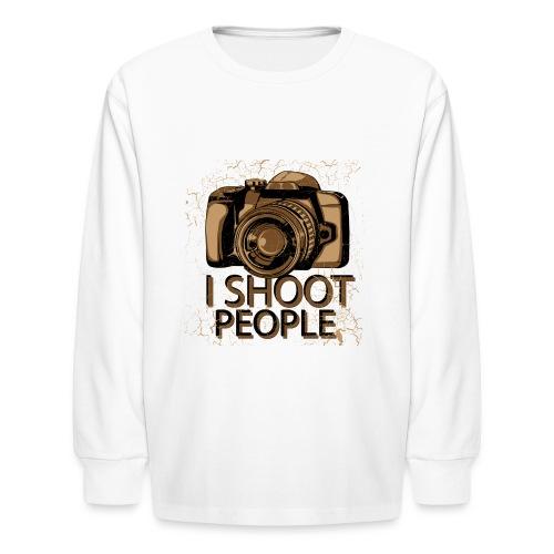 Photographer - Kids' Long Sleeve T-Shirt