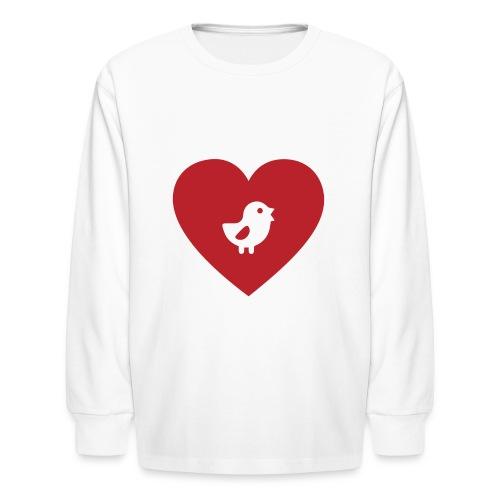 Heart Chick - Kids' Long Sleeve T-Shirt
