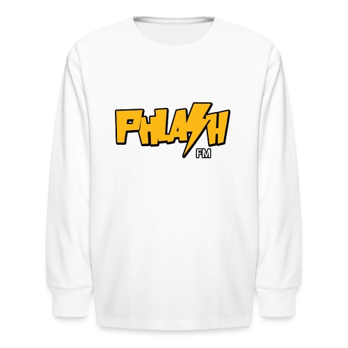 PHLASH fm - Kids' Long Sleeve T-Shirt