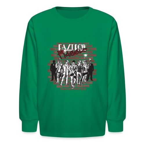 East Row Rabble - Kids' Long Sleeve T-Shirt