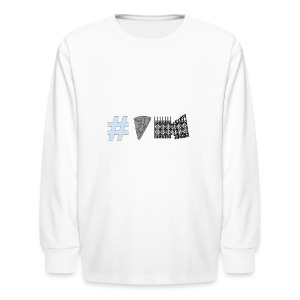 Untitled_drawing - Kids' Long Sleeve T-Shirt