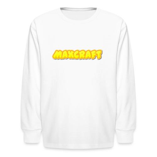 MaxCraft Long Sleeve t-shirt - Kids' Long Sleeve T-Shirt