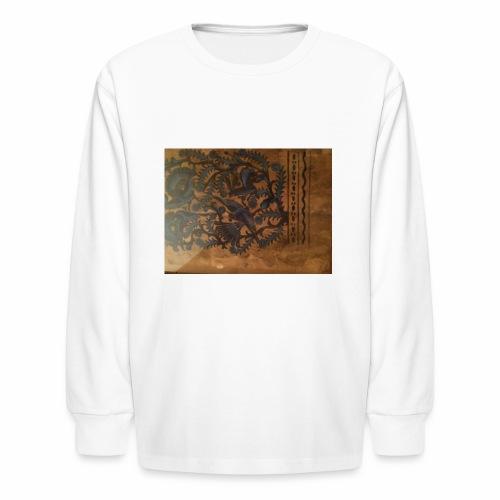 Dilfliremanspiderdoghappynessdogslikeitverymuchtha - Kids' Long Sleeve T-Shirt