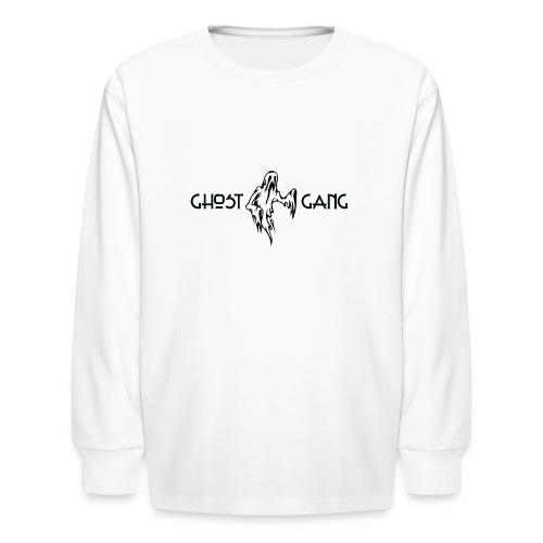 GhostGang Kronic Logo - Kids' Long Sleeve T-Shirt
