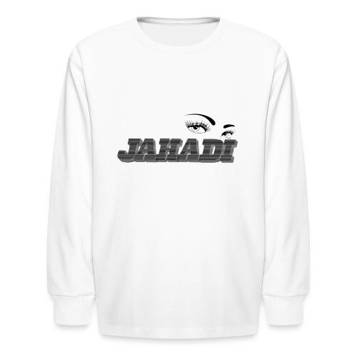 HadiLogo - Kids' Long Sleeve T-Shirt