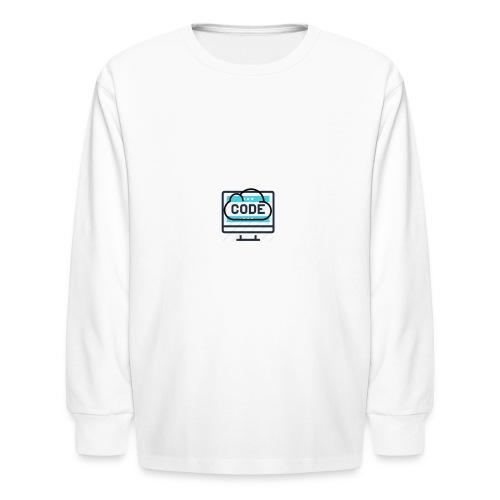 #CodesIsTheBestOwner - Kids' Long Sleeve T-Shirt