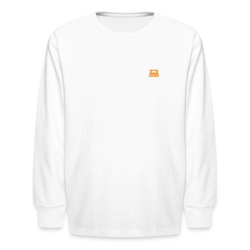 NooBGameZ Logo - Kids' Long Sleeve T-Shirt