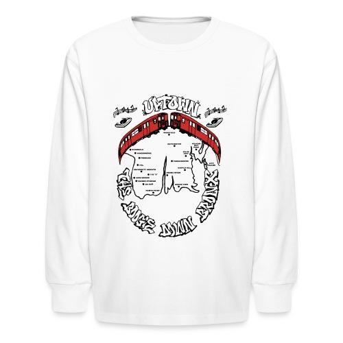 (artwork_195348) THE BOOGIE DOWN BRONX - Kids' Long Sleeve T-Shirt