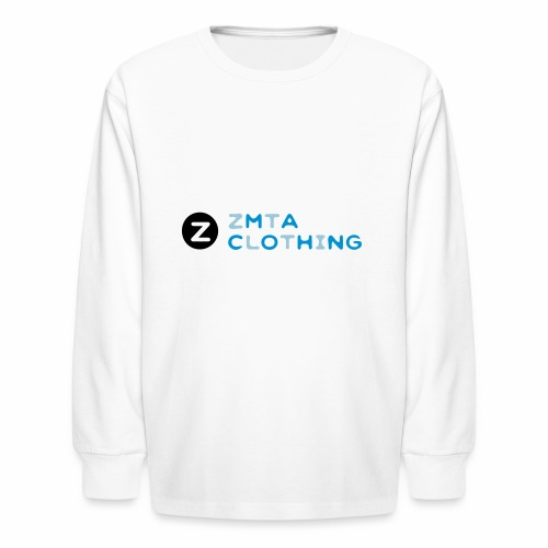 ZMTA logo products - Kids' Long Sleeve T-Shirt