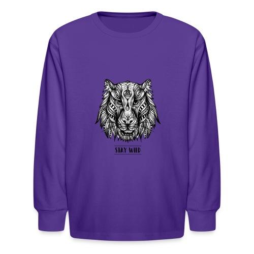 Stay Wild - Kids' Long Sleeve T-Shirt