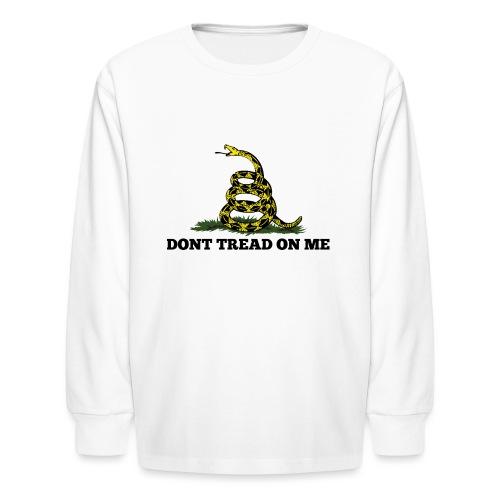 GADSDEN 1 COLOR - Kids' Long Sleeve T-Shirt
