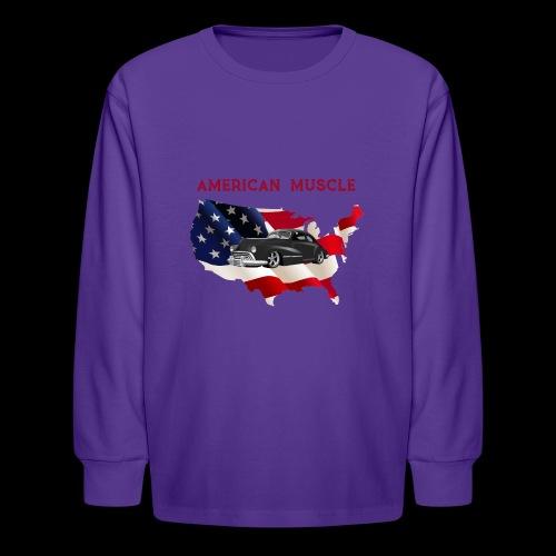 US Muscle - Kids' Long Sleeve T-Shirt