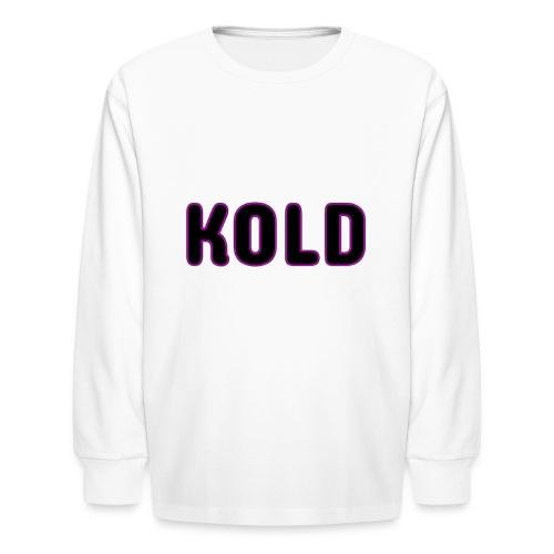 KOLD - Kids' Long Sleeve T-Shirt