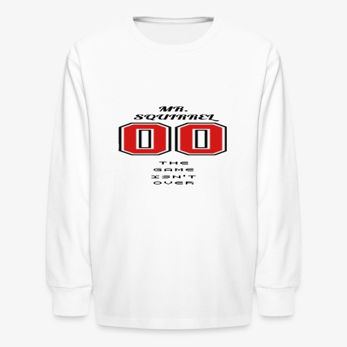 The game isn't over - Kids' Long Sleeve T-Shirt