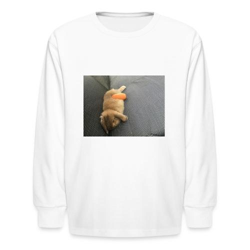 Rabbit T-Shirts - Kids' Long Sleeve T-Shirt