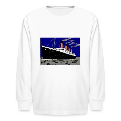 TITANIC - Kids' Long Sleeve T-Shirt