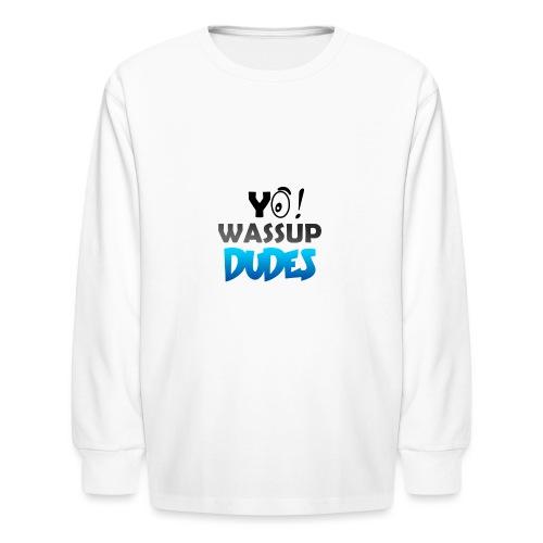 Official CaseyDude Merch! - Kids' Long Sleeve T-Shirt