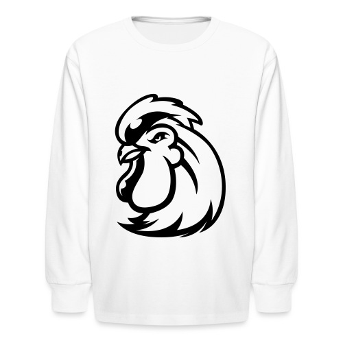 Peckers head t - Kids' Long Sleeve T-Shirt