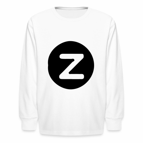 z logo - Kids' Long Sleeve T-Shirt