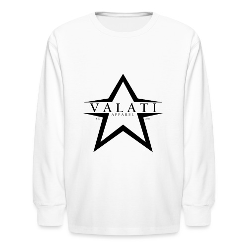 V-STAR Black - Kids' Long Sleeve T-Shirt