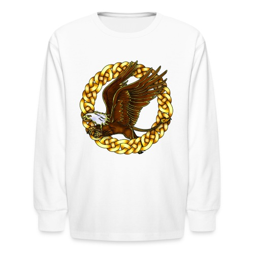 Bald Gryphon - Kids' Long Sleeve T-Shirt