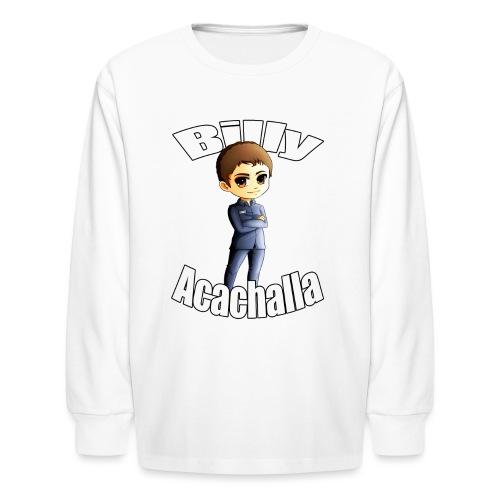 Billy acachalla copy png - Kids' Long Sleeve T-Shirt