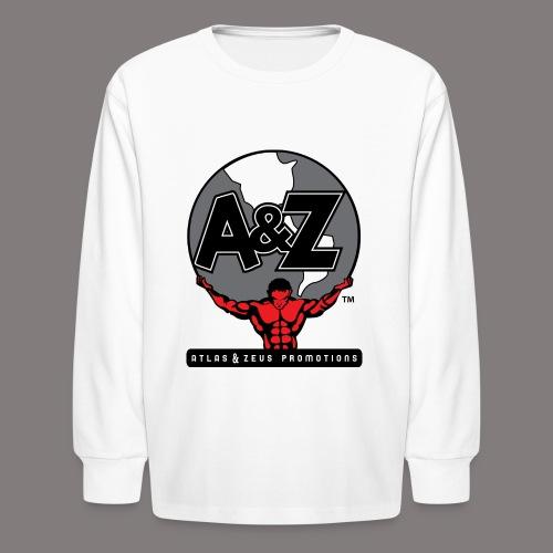 A Z Logo Randy Santel - Kids' Long Sleeve T-Shirt