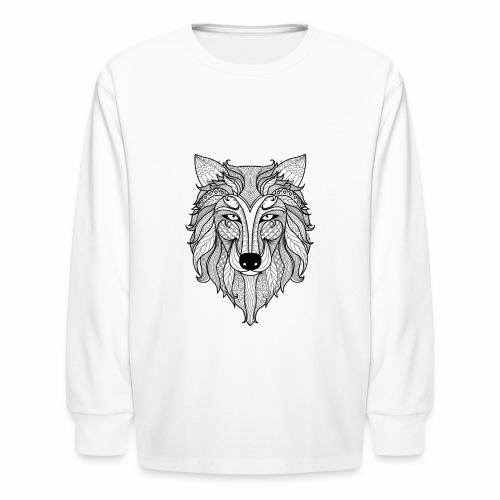 Classy Fox - Kids' Long Sleeve T-Shirt