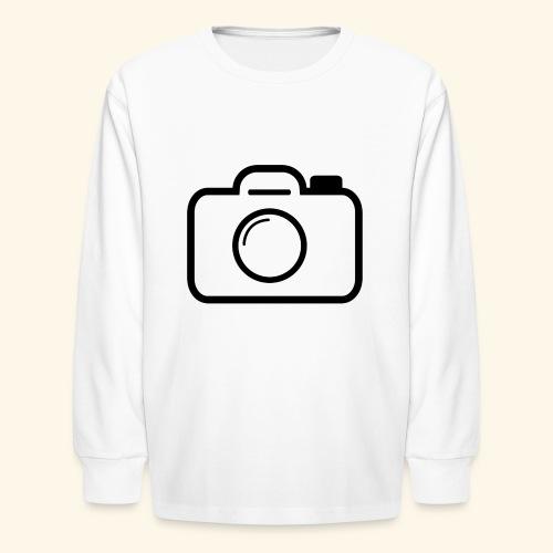 Camera - Kids' Long Sleeve T-Shirt