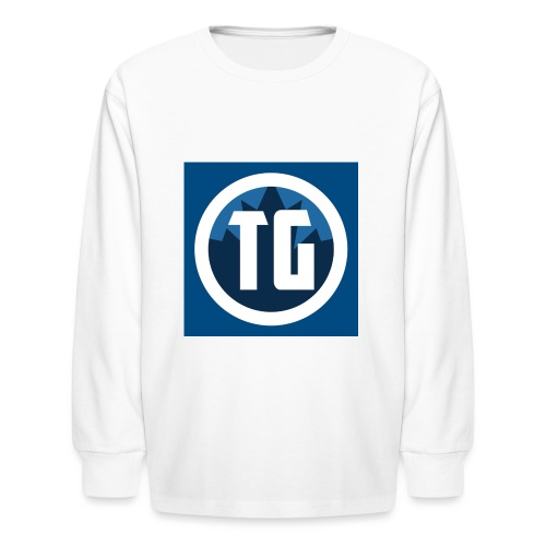 Typical gamer - Kids' Long Sleeve T-Shirt