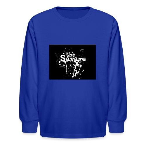 the savage - Kids' Long Sleeve T-Shirt