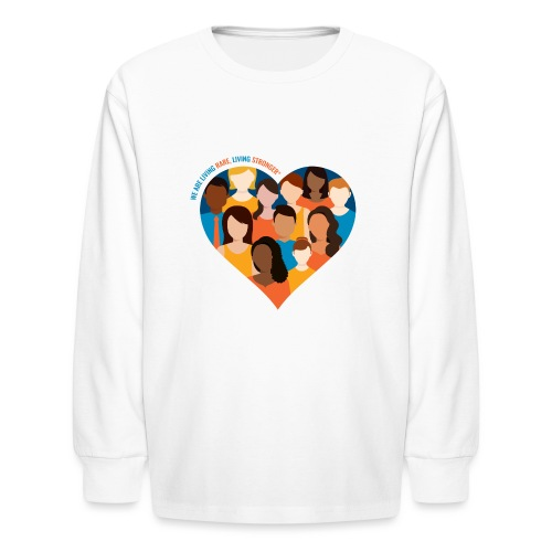 Living Rare, Living Stronger 2021 - Kids' Long Sleeve T-Shirt