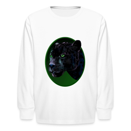 Big Black Jaquar - Kids' Long Sleeve T-Shirt