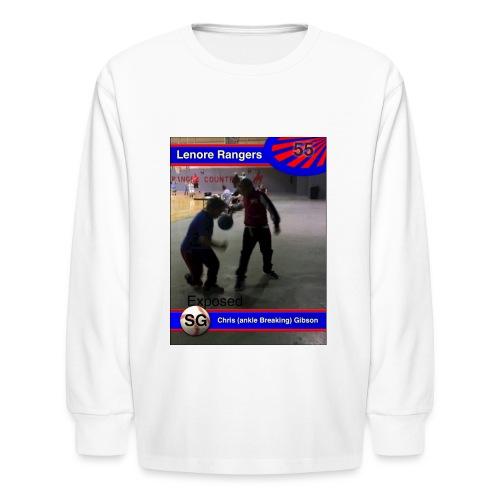 Basketball merch - Kids' Long Sleeve T-Shirt