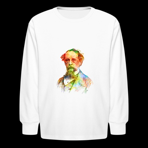 What the Dickens? | Classic Literature Lover - Kids' Long Sleeve T-Shirt