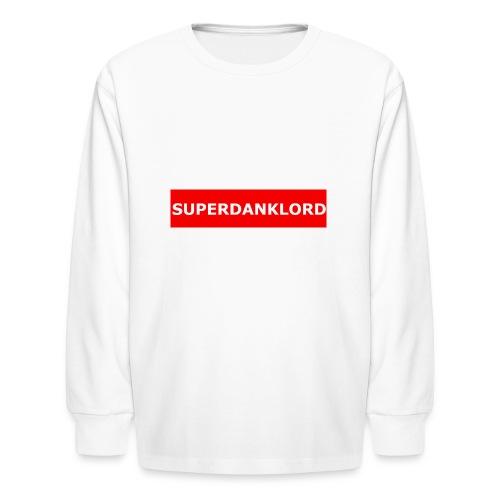 REDbannerMrch - Kids' Long Sleeve T-Shirt