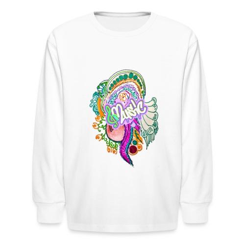 Music - Kids' Long Sleeve T-Shirt