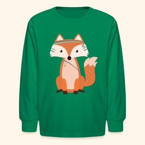 Felix Fox - Kids' Long Sleeve T-Shirt