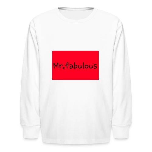 Fabulous - Kids' Long Sleeve T-Shirt