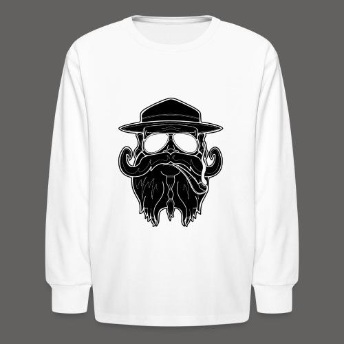 OldSchoolBiker - Kids' Long Sleeve T-Shirt