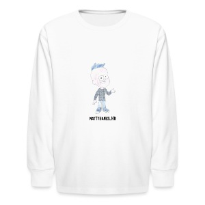 MattyGames pillow case - Kids' Long Sleeve T-Shirt
