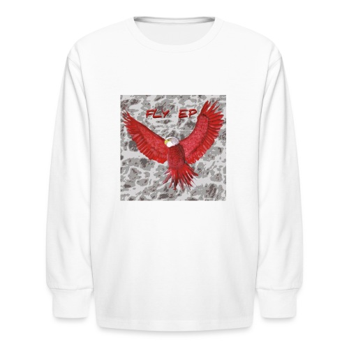 Fly EP MERCH - Kids' Long Sleeve T-Shirt