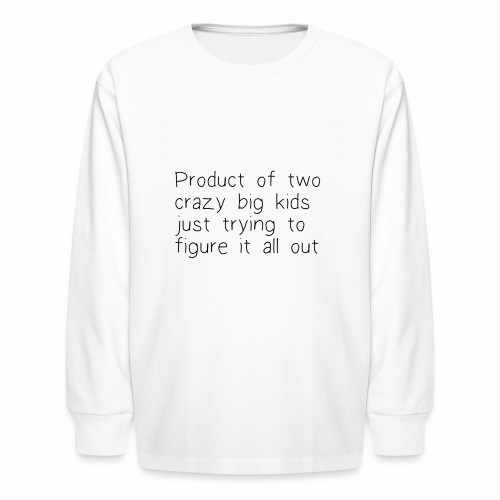 The product - Kids' Long Sleeve T-Shirt