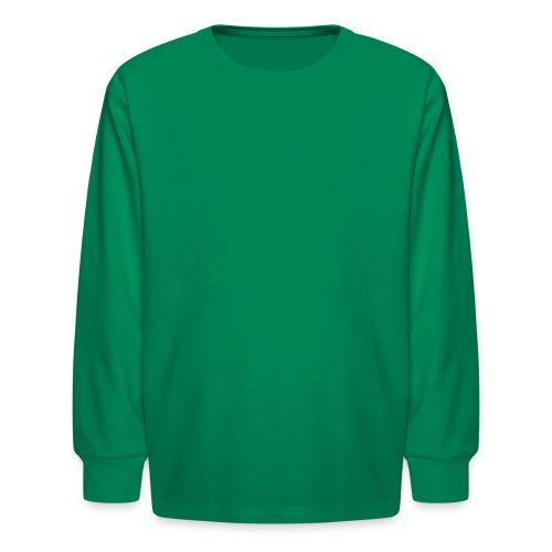 William Penn State Forest Keystone (w/trees) - Kids' Long Sleeve T-Shirt