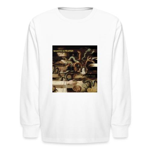Mantis and the Prayer- Butterflies and Demons - Kids' Long Sleeve T-Shirt