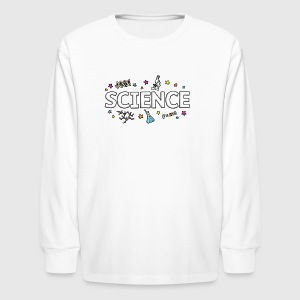 March for Science - Kids' Long Sleeve T-Shirt