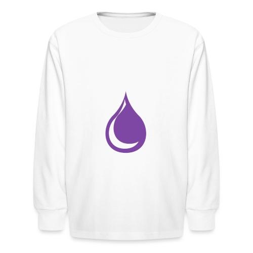 drop - Kids' Long Sleeve T-Shirt