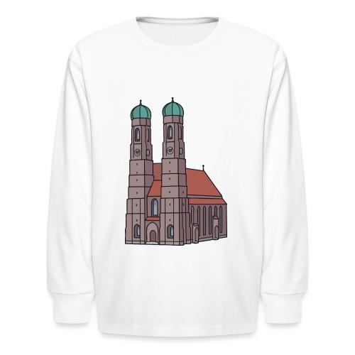 Munich Frauenkirche - Kids' Long Sleeve T-Shirt