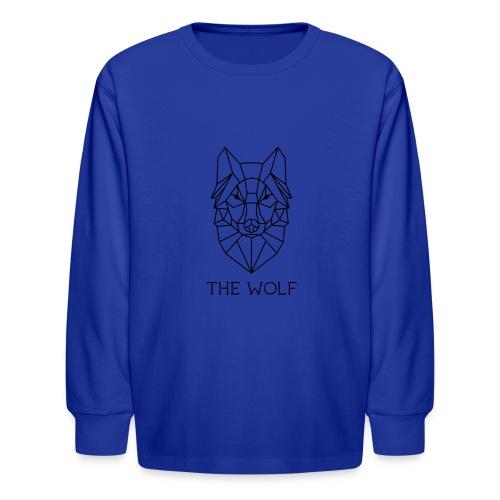 The Wolf - Kids' Long Sleeve T-Shirt
