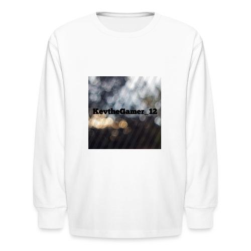 The KevtheGamer_12 store - Kids' Long Sleeve T-Shirt